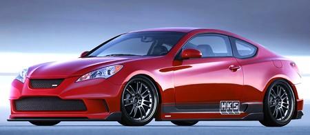 [Foto] Coupe vermelho Tunado