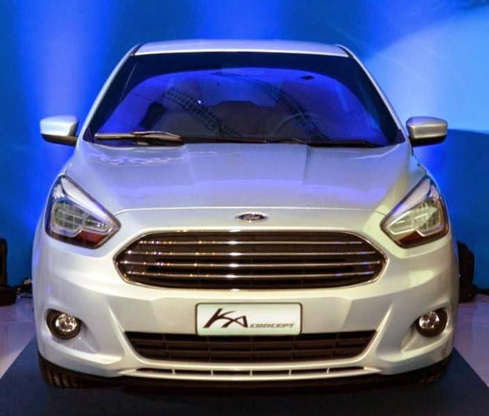 Novo Ford Ka 2015 fotos lançamento no Brasil.